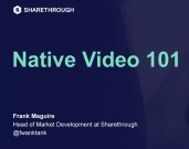 AMA Marketing 101 Series: Native Video