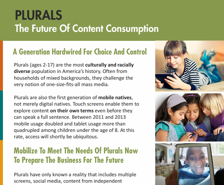 Plurals: The Future of Content Consumption